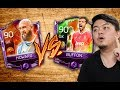 BUFFON VS HOWARD 90 RATED BASE CARD COMPARISON! WHO IS BETTER? FIFA MOBILE S2