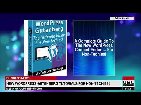 WPCompendium.org - WordPress Gutenberg Tutorials For Non-Techies!