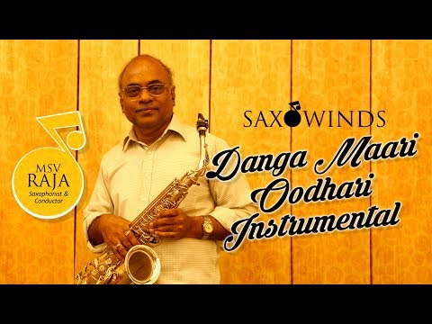 saxophone player india |  Instrumental Danga Maari  | Sax Raja | Saxowinds Light Music
