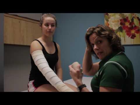 Self Bandage of the Arm