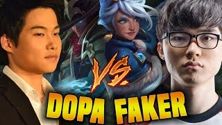 Faker Vs Dopa Again! Faker Taliyah Vs Dopa Twisted Fate (who Is The Best?)   When Faker Meets Dopa