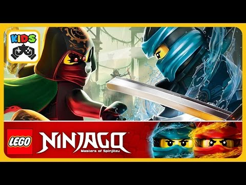 ЛЕГО Ниндзяго Ву Кру * LEGO Ninjago WU CRU * Мультик игра для детей от #Lego * Играем в Лего Ниндзя