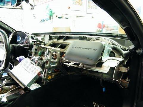 1998 C5 Corvette Dash Pad Removal