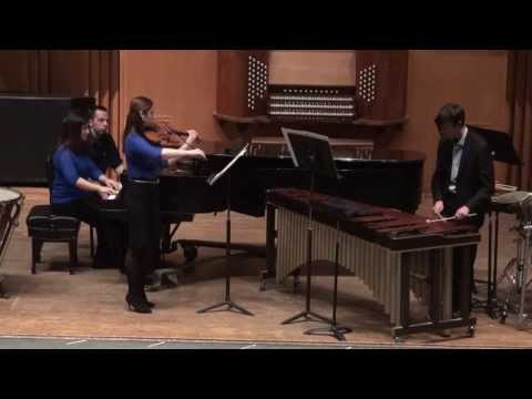"""""""Native American Portraits"""" performed by Jared Bloch, Meghan O'Keefe, and Stephanie Mata"""