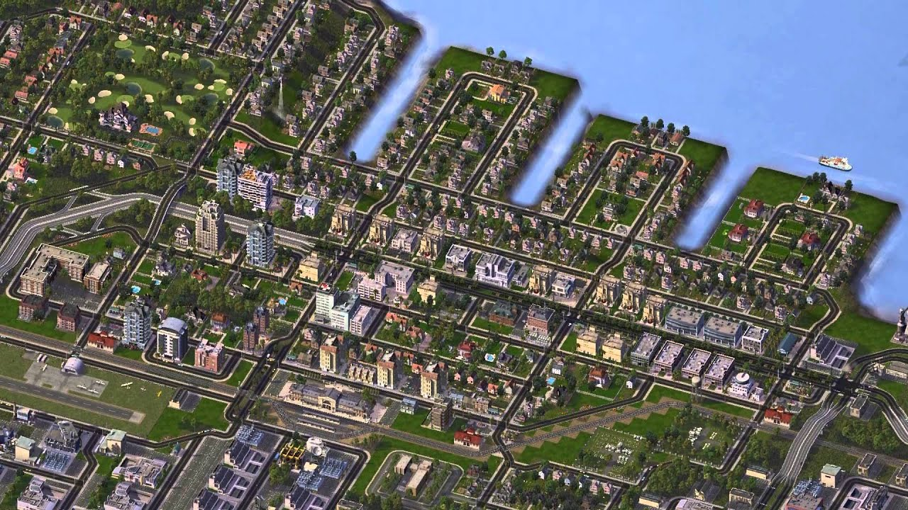 SimCity 4 GR III: Shoreview - YouTube