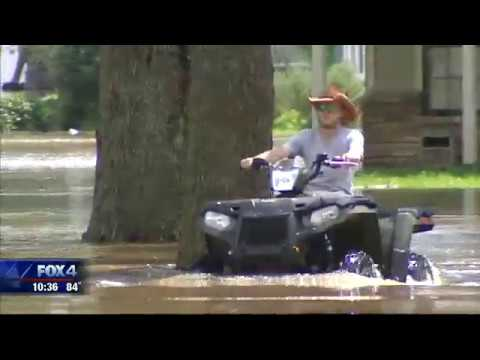 Texans Still Dealing With Flooding from Brazos River