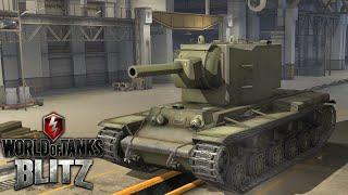 World Of Tank Blitz - KV-2 Gameplay
