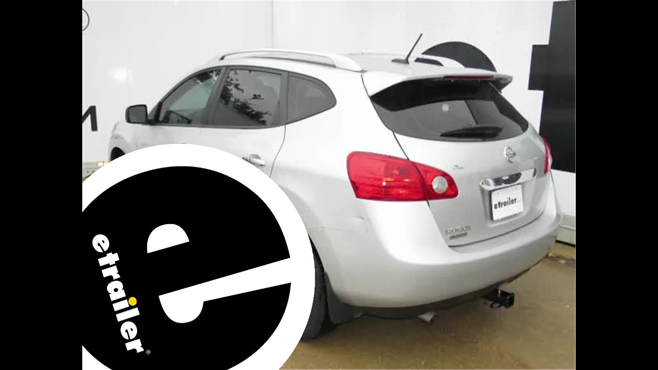 Install Trailer Hitch 2014 Nissan Rogue Sel C13204   Etrailer.com