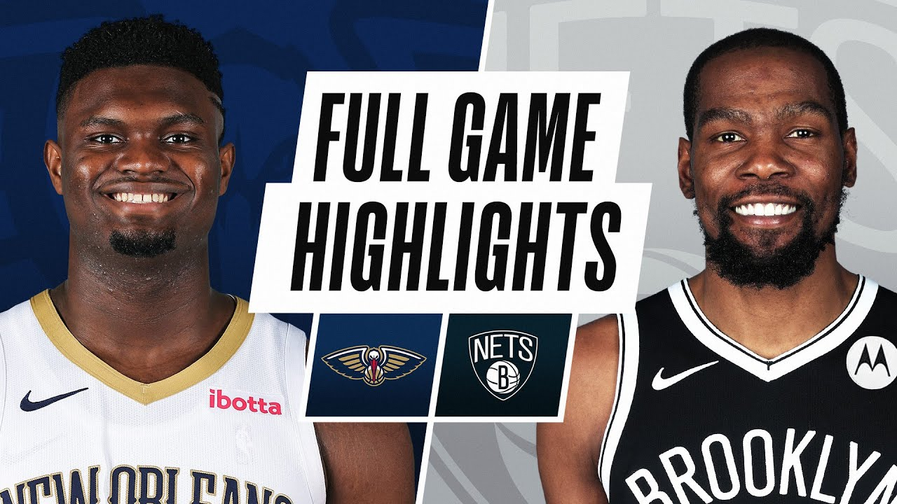 Download PELICANS at NETS  | FULL GAME HIGHLIGHTS | April 7, 2021