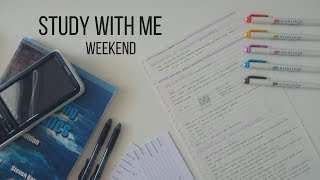 Study With Me   Weekend - 2