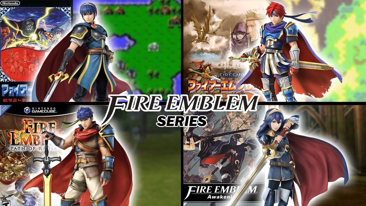 fire emblem series intros and gameplay 1990 2017 fire emblem 1 to