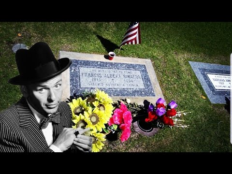 #993 FRANK SINATRA Grave & Home In PALM SPRINGS - Jordan The Lion Daily Travel VLOG (4/26/19)