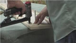 Furniture Upholstery : Repairing Upholstery