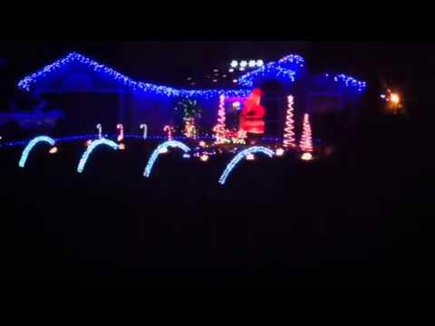 Gemmy Christmas light show 2011 - Gemmy Christmas Light Show 2011 - YouTube