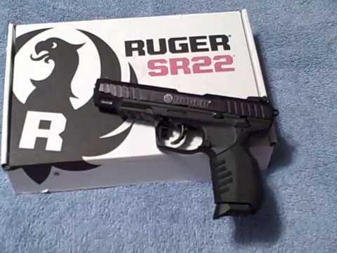 Ruger SR22 4.5 Inch Barrel Full Review & Shooting