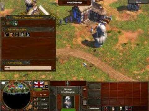 age of empires 3 cheats *WATCH THE VIDEO RESPONCE PLZ*