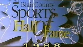 Gambar cover Blair County Sports Hall of Fame 1988 Dinner and Induction