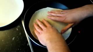 Dünnes Fladenbrot für Dürüm/Yufka Döner Selber Machen - Pfannenfladenbrot (Rezept)