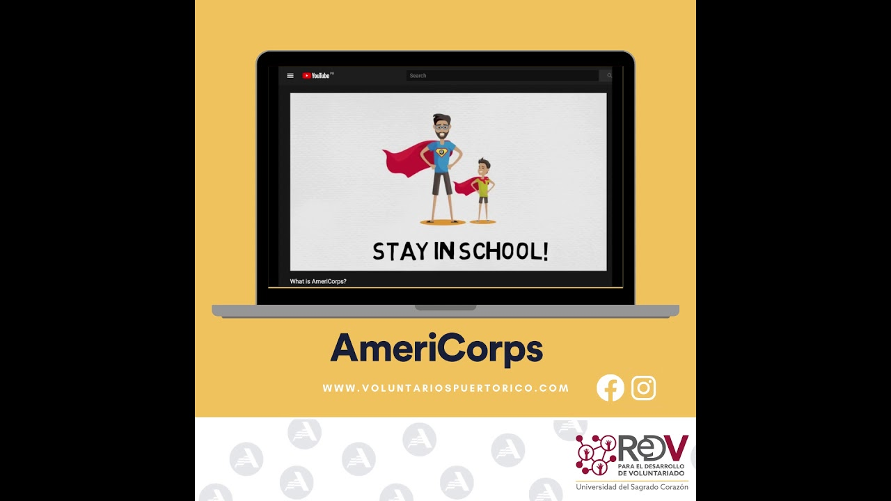 🎉Hoy celebramos la semana de #AmeriCorps.