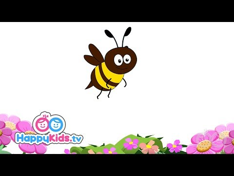 Bee - Learning Songs Collection For Kids And Children | Happy Kids | Jungle Beats
