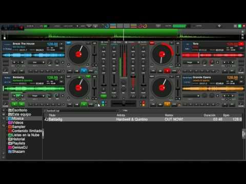 Virtual DJ 8 EDM Electro House Mix 2017 | DJ Coty |