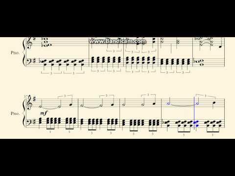 Imagine Dragons - Warriors (piano sheet music)