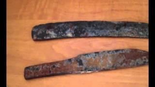 закалка и отпуск ножа из рессоры и дополнительные ножи