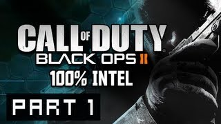 Call of Duty Black Ops 2 Walkthrough - Part 1 Pyrrhic Victory 100% Intel Campaign Gameplay