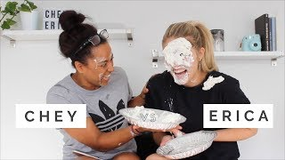 NEWLYWEDS CHALLENGE *PIE IN THE FACE*