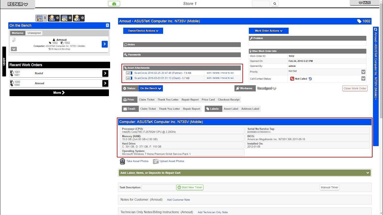pc repair tracker scancircle partner program youtube