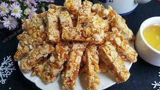 Cách nấu kẹo đậu phộng (kẹo lạc) theo cách truyền thống cho ngày tết cổ truyền (Tết. tập 5)