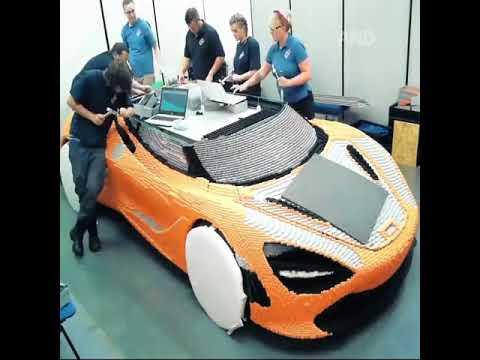 Sports car na gawa sa LEGO