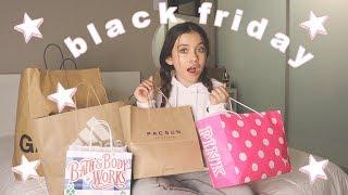 Black Friday 2019 | Shopping Vlog and Haul - Garage, Adidas, Pacsun, Brandy Melville