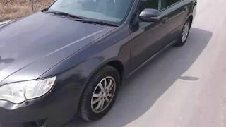 Видео-тест автомобиля Subaru Legacy (BP5-131892, Ej203, 2006г)