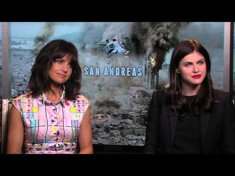 San Andreas: Alexandra Daddario & Carla Cugino Exclusive Interview