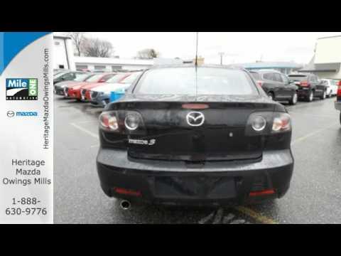2007 Mazda Mazda3 Baltimore MD Owings Mills, MD #BU721801   SOLD