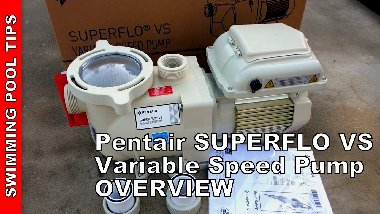 medium resolution of pentair superflo vs variable speed pump works on 115 230 volts overview features