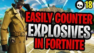 How To Counter Explosive Spammers In Fortnite! (Season 5 Battle Royale Tips)