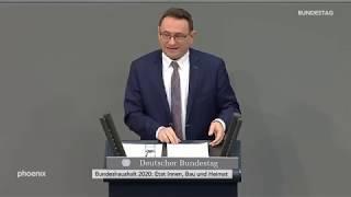 Ulrich Lange (CDU/CSU) zum Etat für Inneres, Bau und Heimat am 28.11.19