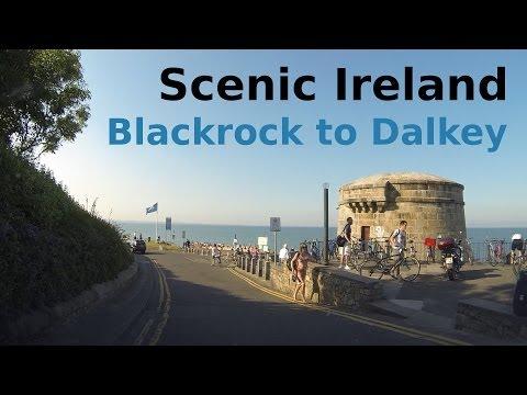 Blackrock To Dalkey (scenic Summer Drive, Dublin, Ireland)