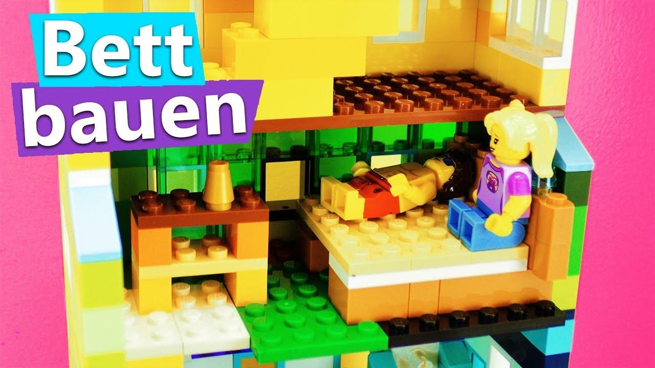 Lego Haus bauen SCHLAFZIMMER einrichten für Lisa & Tom