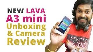 Lava A3 Mini Mobile Unboxing and camera Review