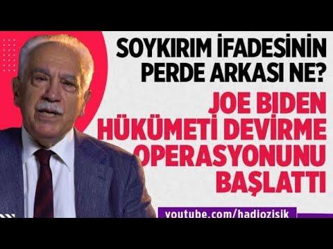 BIDEN'IN 'SOYKIRIM' İFADESİ TÜRKİYE'YE BAŞLATILAN BİR OPERASYONDUR