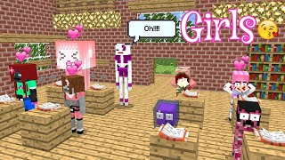 Monster School : NEW BEAUTIFUL STUDENT GIRLS (Part 1) - Minecraft Animation