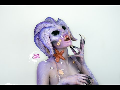 """POLISH NYX FACE AWARDS TOP 10 """"UNDERWATER CREATURES"""""""