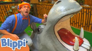 Blippi Learns about Jungle Animals! | Learn About Animals for Kids | Educational Videos for Toddlers