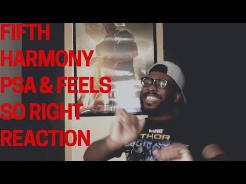 Fifth Harmony PSA & Feels So Right REACTION!!!