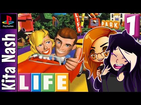 The Game of Life Gameplay |Part 1| BROKE - JUST LIKE REAL LIFE! | PS1 Let's Play w/KatFTWynn
