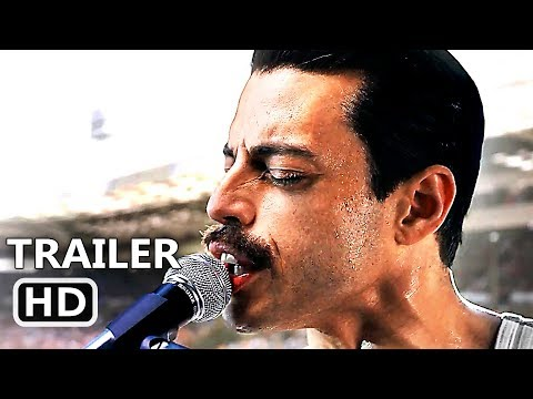 BOHEMIAN RHAPSODY Trailer # 2 (NEW 2018) Rami Malek, Freddie Mercury, Queen Movie HD