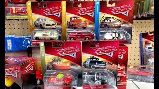 2019 Disney Cars Toy Hunt HD Version - Leroy Heming Heyday Smokey Shannon Spokes Tumbleweed McQueen